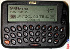 Характеристики и обзор RIM Blackberry 950 Internet Edition. Где купить RIM Blackberry 950 Internet Edition